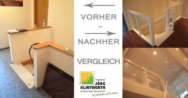 treppen-gelaender-glas-verkleidung-handwerker-treppengeruest